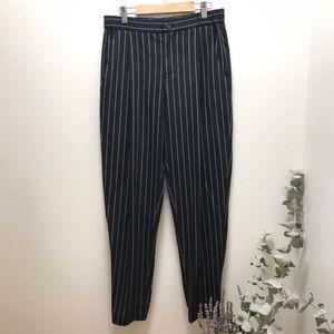 "Pinstripe UNIQLO Trouser | XS 24-25"" waist"